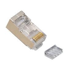 Platinum Tools 106206J Standard Cat 6 Shielded 2 Piece 3 Prong w/Liner RJ45 Conn
