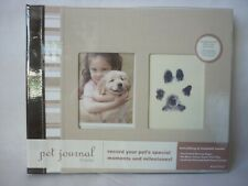 Pawprints Pet Journal including 'Clean Touch Print Pad' Album with accessories