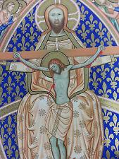 1830 Antique CHROMOLITHOGRAPH Engelmann Crucifixion Of Christ $5000 Value