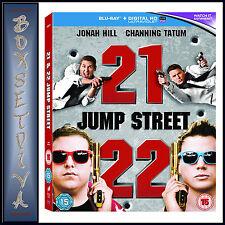 21 JUMP STREET & 22 JUMP STREET - 2 FILMS  **BRAND NEW BLU-RAY REGION FREE***