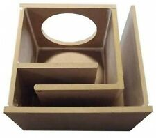 """Obcon Single 10"""" Labyrinth Slot Vent Port Mdf Subwoofer Speaker Box Enclosure"""
