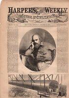 1867 Harper's Weekly October 19 - Garibaldi; Texas Longhorns; Nicaragua railway