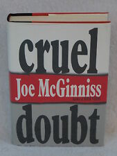 Joe McGinniss CRUEL DOUBT Simon & Schuster c. 1991 HC/DJ