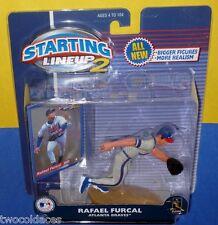 2001 RAFAEL FURCAL Atlanta Braves Rookie final year for Starting Lineup Hasbro