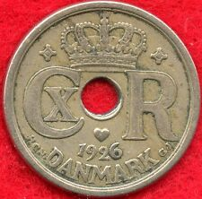 DENMARK - 25 ORE - 1926 - ONLY 2.6M MINTED
