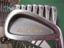Yonex A.D.X. 100i Golf Clubs set ALL ORIGINAL irons 3 thru PW w Stiff Graphite