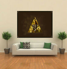 Link Triforce The Legend Of Zelda GIANT WALL POSTER ART PRINT A093