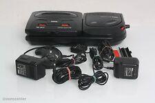 SEGA Mega Drive + Mega CD 2 Bundle mit Umbau (region frei) Spielkonsole schwarz
