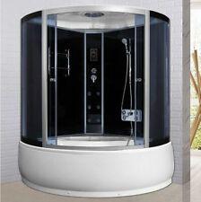 Box Idromassaggio con vasca cabina doccia 135x135 bluetooth ozonoterapia led |66