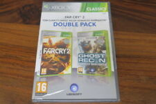 FARCRY 2  + GHOST RECON ADVANCED WARFIGHTER    ----- NEUF    pour XBOX 360