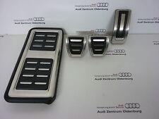 Original Audi A1 Pedal Caps Incl. Apoyapiés, Aluminio Pedal Caps