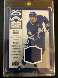 2018-19 Upper Deck Series 1 Jersey #U25-22 Mitch Marner - Maple Leafs 067/250