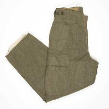New ListingVintage 60s German Army Pants 30x28 Heavy Wool Cargo Berklei Saarbrucken