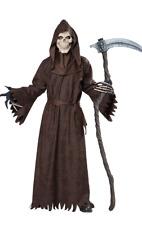 Mens Ancient Grim Reaper Halloween Horror Fancy Dress Costume