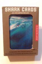 Kikkerland Moving Motion Effect Shark Playing Cards