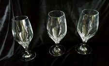BEAUTIFUL LOT OF 3 Schott Zwiesel GALA ICED TEAS STEM CRYSTAL GLASSES