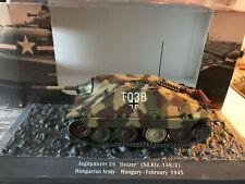 Altaya 1/43 Hetzer/Tank/Panzer/Tanque/Carro Armato