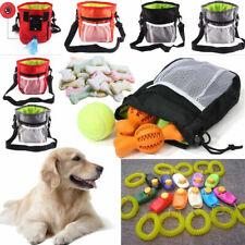 More details for dog training walking pouch waist belt snack treat storage bag poo bags dispenser