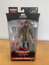 "Marvel Legends Peter B. Parker Spider-Man Into the Spiderverse Series 6"" Figure"