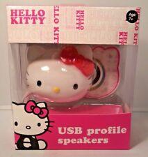 Hello Kitty Molded Head USB Speaker (78609)