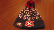 Montreal Canadiens New Era Hat Cap Tuque Mens Womens  New NWT