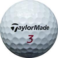 25 TaylorMade TP Red Golfbälle im Netzbeutel AA/AAAA Lakeballs Bälle golf balls