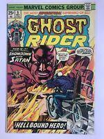 Ghost Rider #9 - Solo Series 1973 Johnny Blaze Marvel Comics