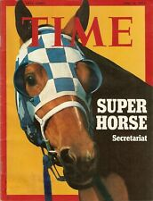 SECRETARIAT - TIME Magazine Cover poster in MINT Condition