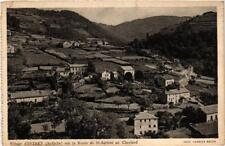 CPA Village d'Intres sur la Route de St-Agreve au Cheylard (398678)