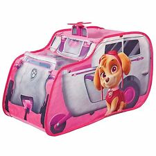PAW PATROL SKYE'S HELICOPTER POP UP COMPACT PLAY TENT OUTDOOR INDOOR FREE P+P