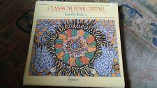 """Timothy Walker,""""Classical Folk Guitar"""" vinyl LP-A 66027"""