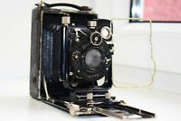 OLD RARE Zeiss Ikon Compur DRP Germany Folding Camera Medium Format SUPER