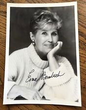 Erma Bombeck, Writer, newspaper columnist, speaker, humorist, 5 x 7 Signed Photo