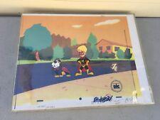 Wish Kid Cartoon Original Animation Cel & Copy Bkgd Macaulay Culkin