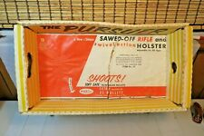 """Vtg 50's 60's Ray Line """"Wanted: The Pursuer� Sawed Off Rifle Toy - Box Only"""