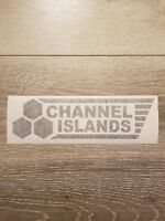 Channel Islands Surfboards 9 Inch Vinyl Decal Surf Sticker - 4 Pack