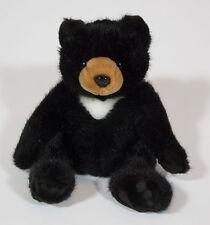 "THE BEARINGTON COLLECTION SMOKY MOUNTAIN BLACK BEAR PLUSH 9"" STUFFED ANIMAL TOY"