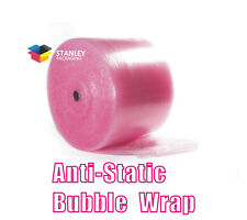 4Rolls  Anti-Static ESD 375mm - Wide x 100M - Length Bubble Wrap AntiStatic