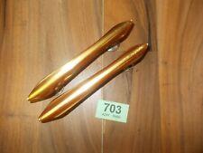 Vintage Retro Bakelite Cupboard Door Handle Handles Pearlesant Pair 703