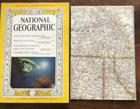National Geographic Magazine April 1960, NW United States Map Washington Angkor