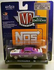 1970 '70 FORD MUSTANG BOSS 429 NOS NITROUS CHASE CAR M2 MACHINES DRIVERS DIECAST