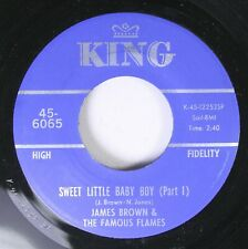 Christmas Soul 45 James Brown & The Famous Flames - Sweet Little Baby Boy (Part