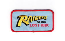 """Indiana Jones Raiders of the Lost Ark Movie Logo Embroidered Patch 4""""x 1.125"""""""