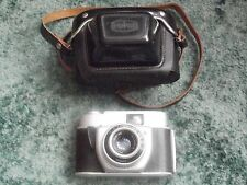 VINTAGE BEIRETTE 35mm CAMERA with 45mm f2.9 MERITAR LENS,+ case