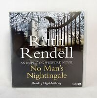 NEW Ruth Rendell No Man's Nightingale Inspector Wexford 8 CD Audio Book