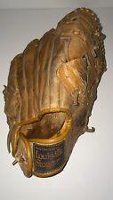 New listing Louisville Slugger HBG76 Baseball Softball Glove Mitts RHT Horseshoe Web Used