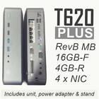 HP/ T620 PLUS Thin Client Quad Core GX-420CA 4/16+Intel GB 4-port -pfSense ready