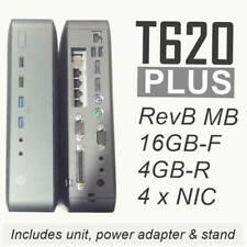 HP T620 PLUS Thin Client Quad Core GX-420CA 16/4 +Intel GB 4-port -pfSense ready