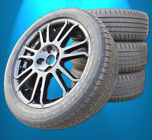 Sommerräder Satz Ford EcoSport BIS 2017 GoodYear 205 50 17 original Alus + RDKS