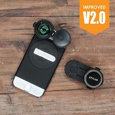 Ztylus Z-prime Metal Black Camera Case 4k HD Lens Kit for Apple iPhone 6 6s